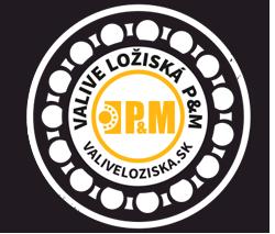 logo Valivé ložiská P&M, s.r.o.